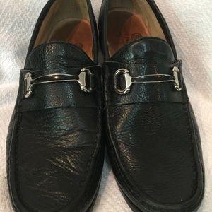 Marc Joseph Grand Street Horse Bit Loafer Shoes 44